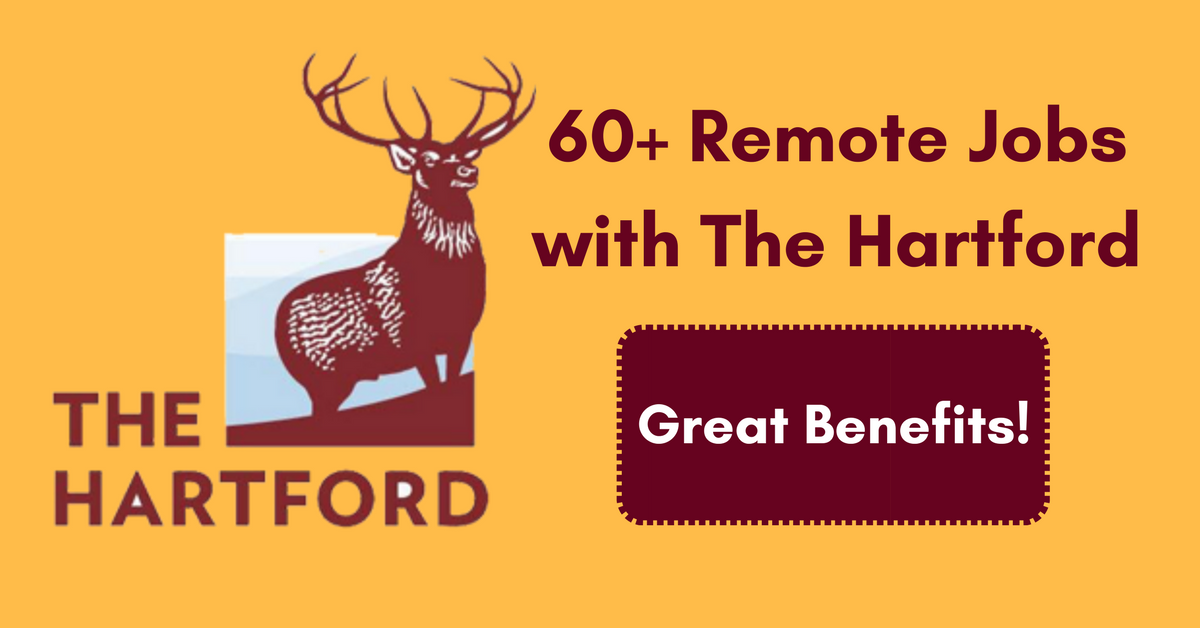 The Hartford At Work >> 60 Remote Jobs With The Hartford Work From Home Jobs By Rat Race