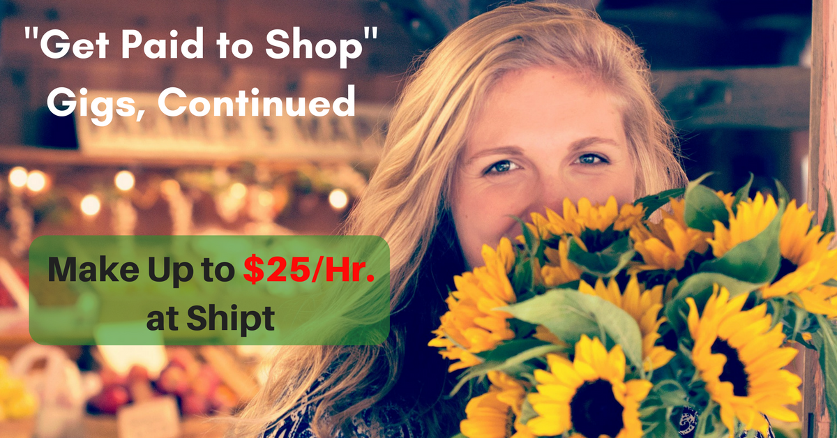 Make Up to $25/Hr  as a Shipt Shopper - Work From Home Jobs