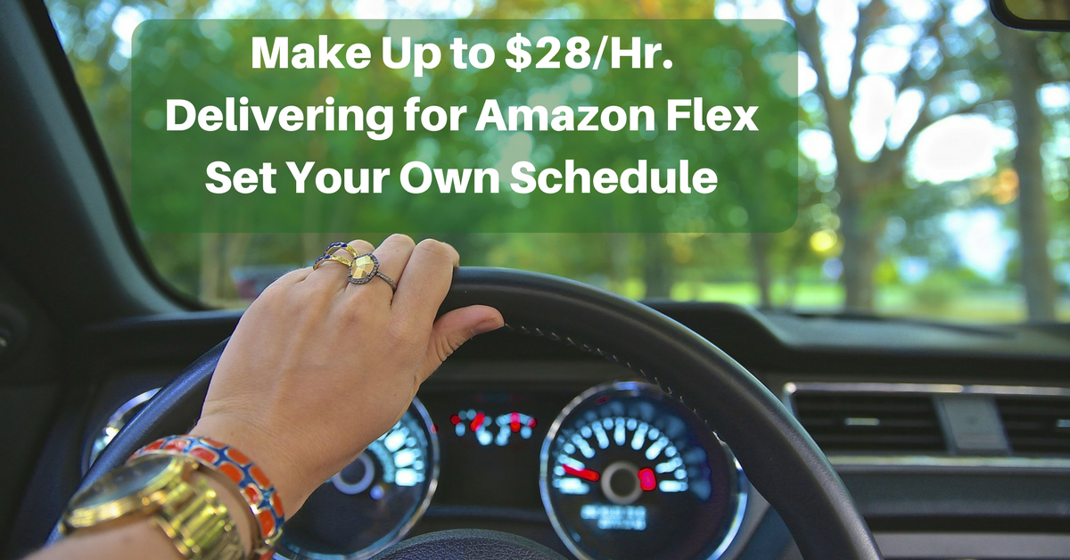 Make Up to $28/Hr  Delivering Packages for Amazon in Your
