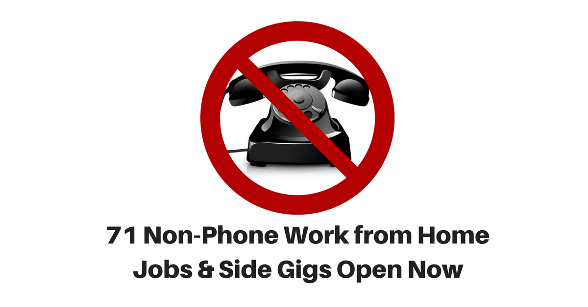 Legitimate Work From Home Side Jobs  Legit Online Side