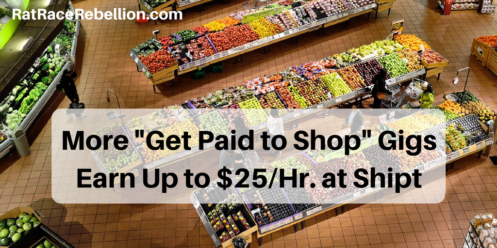 Make Up to $25/Hr  as a Shipt Shopper - Work From Home Jobs by Rat