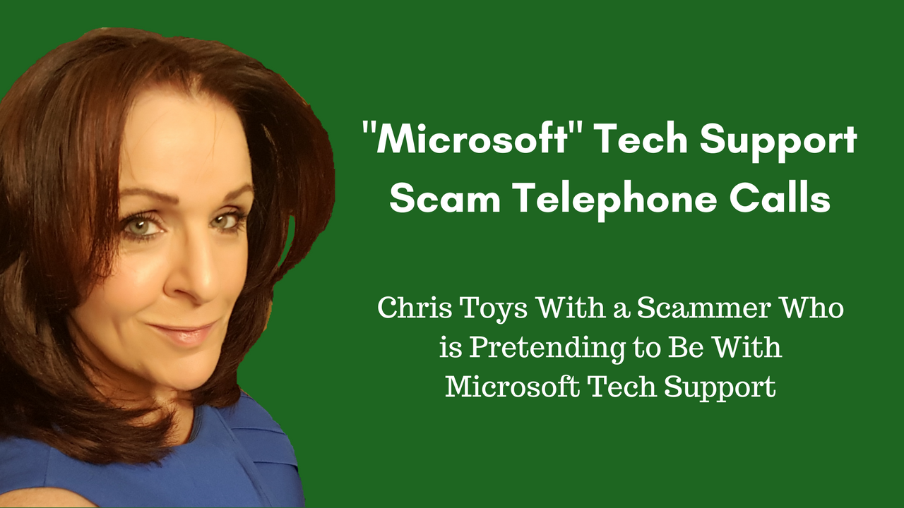 tech support jobs work from home new video chris outs a quot microsoft tech support quot scammer 9863