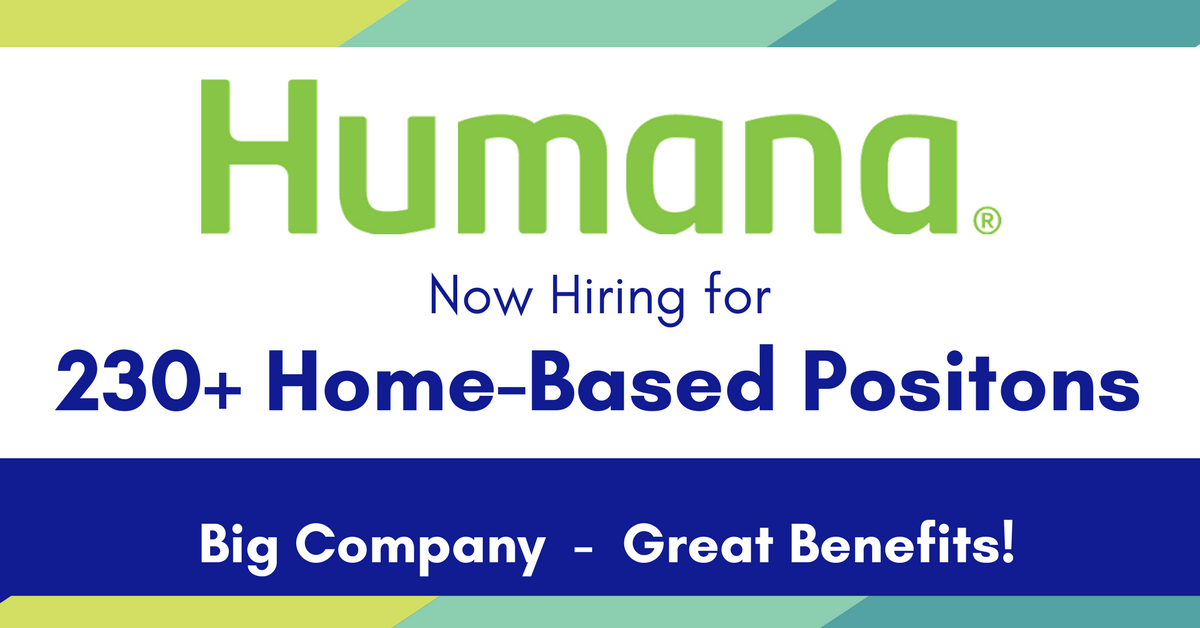 Humana Work From Home Positions