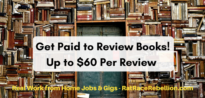 Work from Home as a Book Reviewer - Another Side Gig - Work From