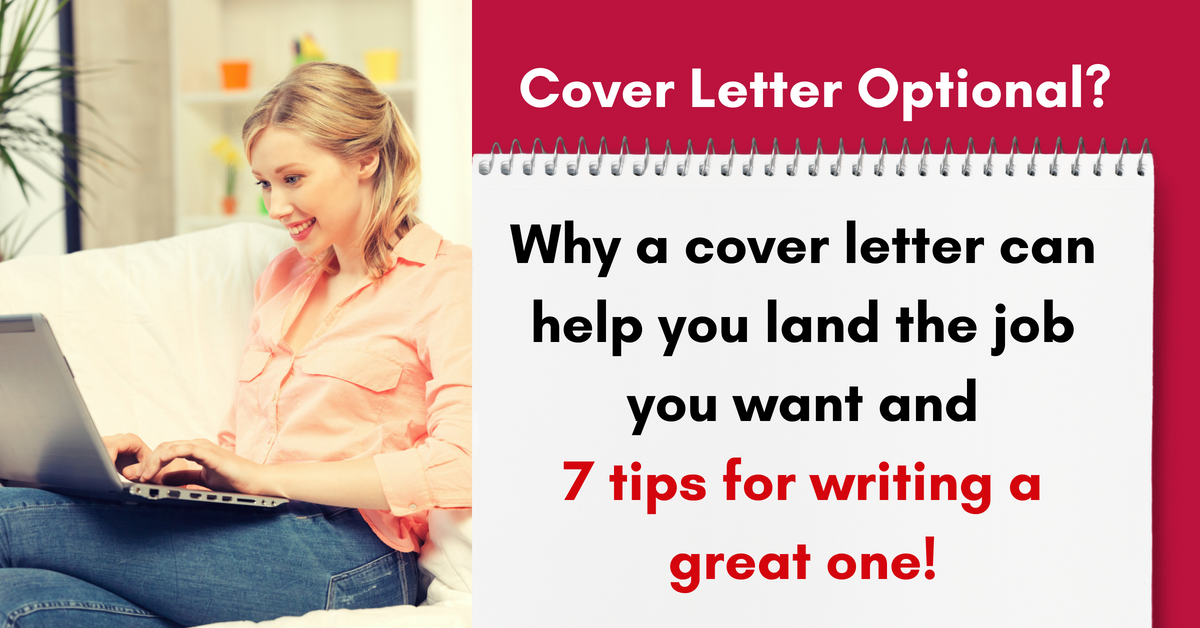 Cover Letter Optional Sure But Including One Can Give You A Big