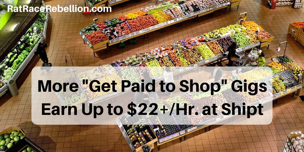 Side Gigs - Make Extra Cash as a Shipt Shopper - Work From