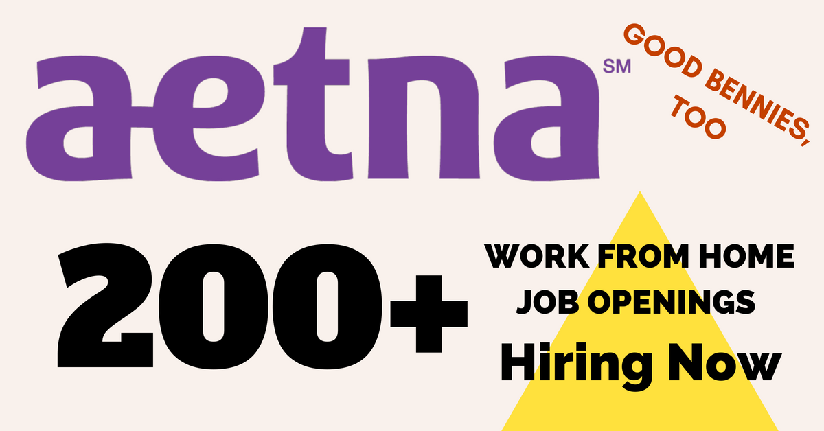 200 Work From Home Jobs At Aetna Comprehensive Benefits Work From Home Jobs By Rat Race Rebellion