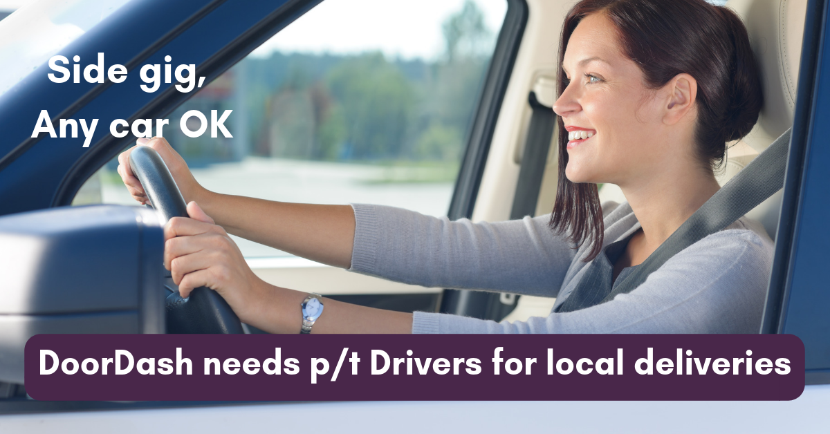 Make Up to $25/Hr  with Local Deliveries for DoorDash - Work From