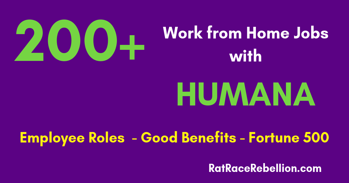 Work From Home Jobs With Humana 200 Open Benefits Work
