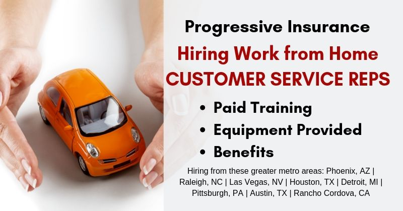work from home houston work from home for progressive hiring customer service 3635