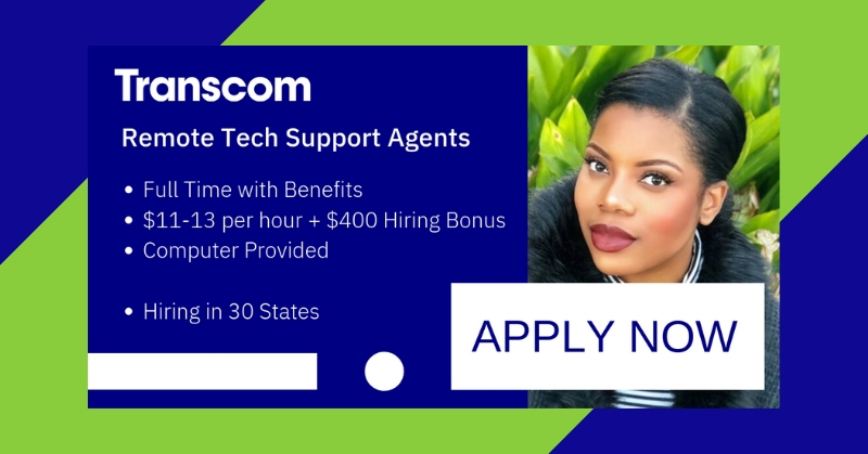 Work from Home for Transcom