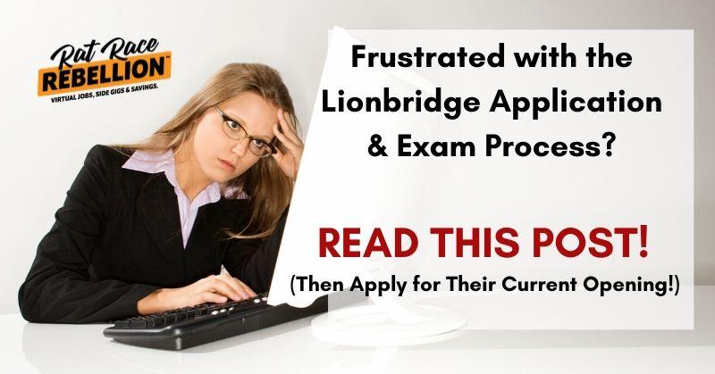 How to pass the Lionbridge Exam