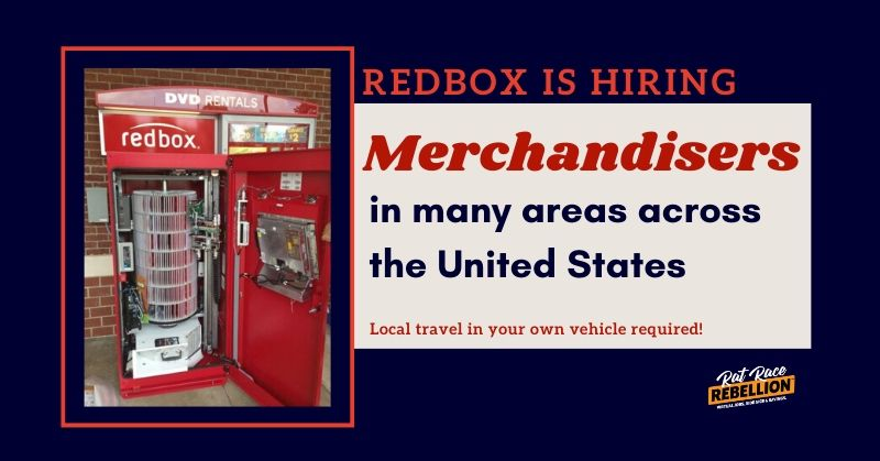 Redbox merchandiser