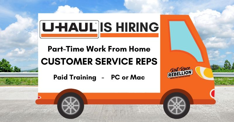 work from home for U-Haul