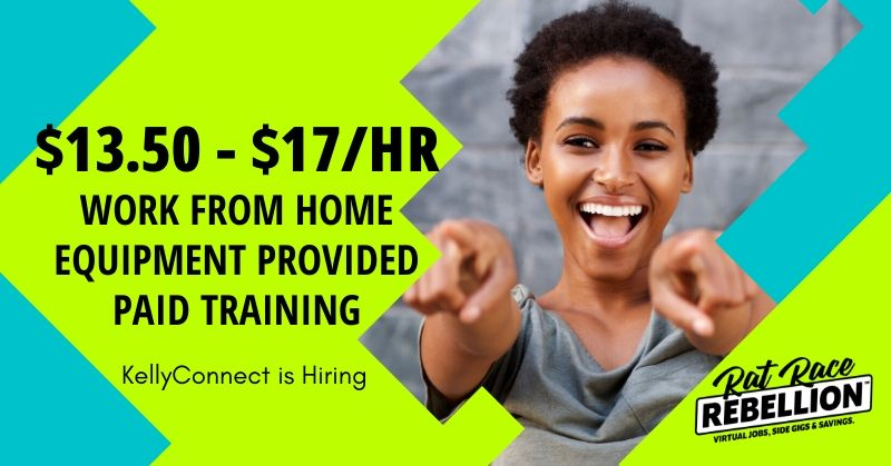 work from home jobs with KellyConnect