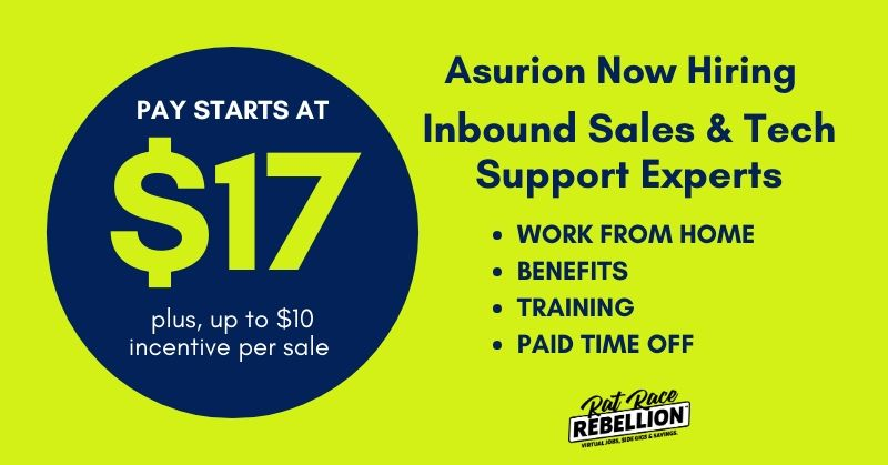 work from home for Asurion