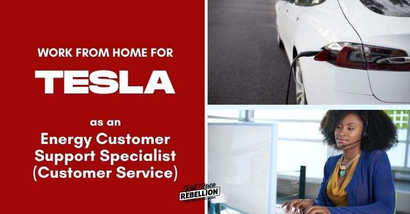 work from home for Tesla