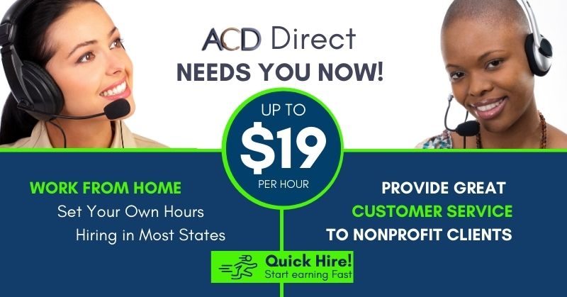 Work from home with ACD Direct