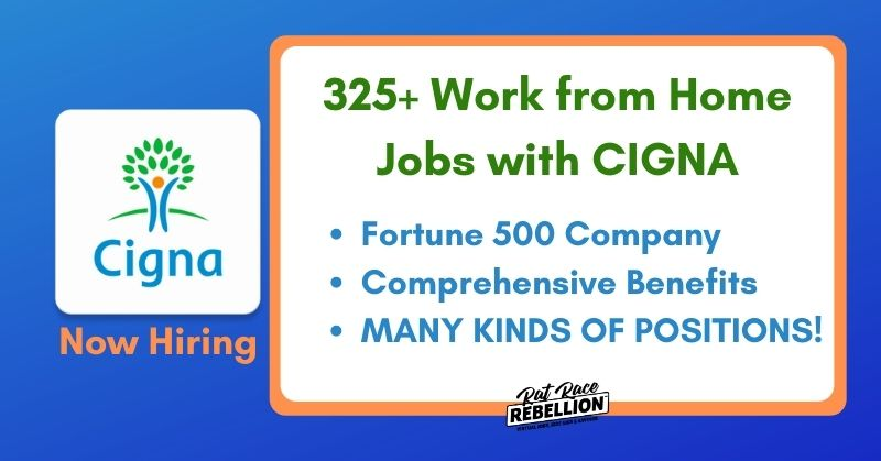 work from home jobs with Cigna