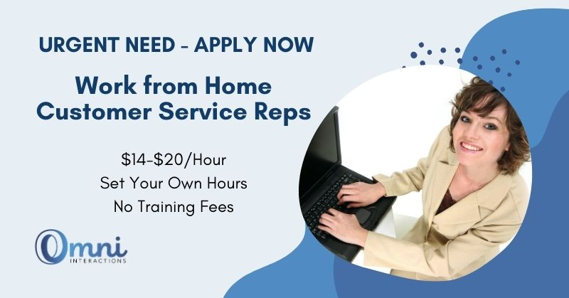 work from home with Omni Interactions
