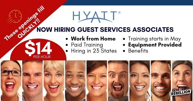 work from home for Hyatt