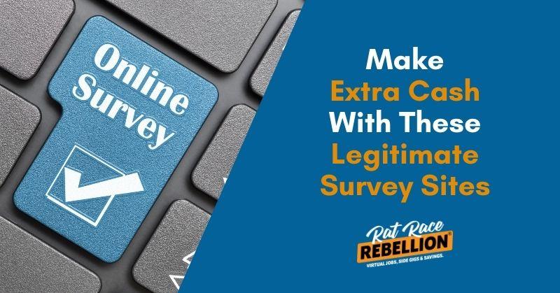 Extra cash with surveys